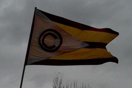 Cross Country Flag
